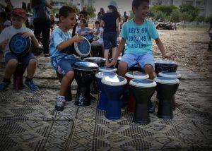 פעילות קייץ לילדים בחוץ