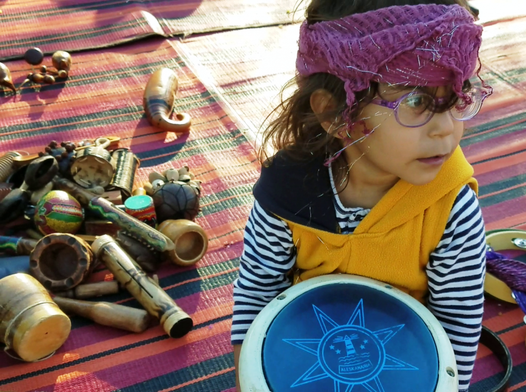 מעגל מתופפים לילדים